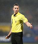 Nederland, Almelo, 22 december 2012.Eredivisie .Seizoen 2012-2013.Heracles Almelo-PEC Zwolle.Scheidsrechter Pol van Boekel