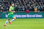 10.02.2019, Weser Stadion, Bremen, GER, 1.FBL, Werder Bremen vs FC Augsburg, <br /> <br /> DFL REGULATIONS PROHIBIT ANY USE OF PHOTOGRAPHS AS IMAGE SEQUENCES AND/OR QUASI-VIDEO.<br /> <br />  im Bild<br /> <br /> Claudio Pizarro (Werder Bremen #04)<br /> Einzelaktion, Ganzk&ouml;rper / Ganzkoerper<br /> <br /> Foto &copy; nordphoto / Kokenge