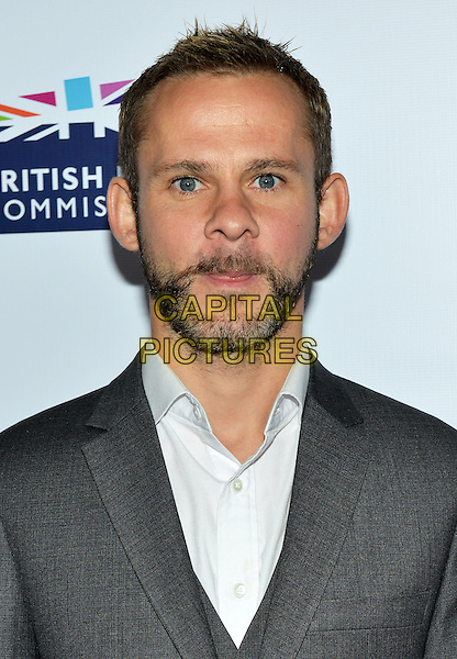 28 February 2014 - Los Angeles, California - Dominic Monaghan. GREAT British Film Reception to honor the British Oscar nominees, hosted by Consul General Chris O'Connor at the British Residence. <br /> CAP/ADM/CC<br /> &copy;CC/AdMedia/Capital Pictures