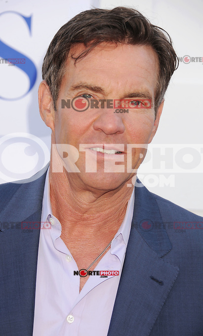 BEVERLY HILLS, CA - JULY 29: Dennis Quaid arrives at the CBS, Showtime and The CW 2012 TCA summer tour party at 9900 Wilshire Blvd on July 29, 2012 in Beverly Hills, California. /NortePhoto.com<br />