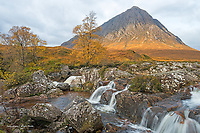 Buachaille Etive Mor and the River Coupall, Glen Coe Scotland