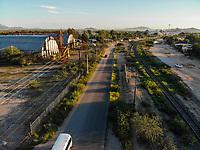 Vista a&eacute;rea de ejido la Victoria. Comunidad dedicada a la agricultura y ganader&iacute;a. <br />  (Foto: Luis Gutierrez / NortePhoto.com)