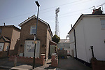 An exterior view of the ground from New Street pictured before Brentford hosted Leeds United in an EFL Championship match at Griffin Park. Formed in 1889, Brentford have played their home games at Griffin Park since 1904, but are moving to a new purpose-built stadium nearby. The home team won this match by 2-0 watched by a crowd of 11,580.