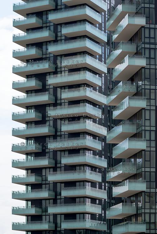 Milano, Porta Nuova Varesine. Torre Solaria