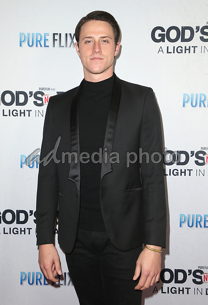 """20 March 2018 - Hollywood, California - Shane Harper. """"God's Not Dead: A Light In Darkness"""" Premiere held at American Cinematheque Egyptian Theatre. Photo Credit: F. Sadou/AdMedia"""