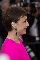 Kristin Scott Thomas at the premiere for &quot;The Killing of a Sacred Deer&quot; at the 70th Festival de Cannes, Cannes, France. 22 May 2017<br /> Picture: Paul Smith/Featureflash/SilverHub 0208 004 5359 sales@silverhubmedia.com