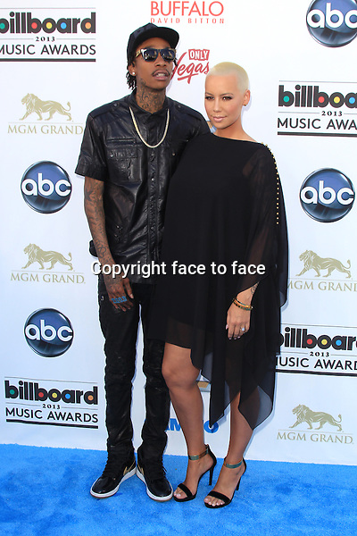 LAS VEGAS, NV - MAY 19: Wiz Khalifa and Amber Rose at the 2013 Billboard Music Awards at the MGM Grand Garden Arena on May 19, 2013 in Las Vegas, Nevada...Credit: MediaPunch/face to face..- Germany, Austria, Switzerland, Eastern Europe, Australia, UK, USA, Taiwan, Singapore, China, Malaysia, Thailand, Sweden, Estonia, Latvia and Lithuania rights only -