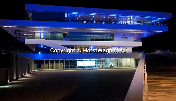 Valencia-Spain, 10 January 2018; <br /> aiic's 37. Assembly 2018: reception at Veles e Vents - a venue at the harbour front, on the eve of the official opening; <br /> Photo &copy; HorstWagner.eu
