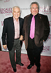 Dick Latessa & Harvey Fierstein<br />Arriving for the Opening Night Performance of LEGALLY BLONDE - The Musical at the Palace Theatre in New York City.<br />April 29, 2007