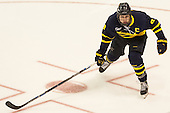 Brian Christie (Merrimack - 8) - The Boston University Terriers defeated the visiting Merrimack College Warriors 4-0 (EN) on Friday, January 29, 2016, at Agganis Arena in Boston, Massachusetts.