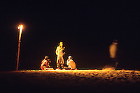 Tuareg nomads camp in the dunes around the Festival au Desert music and culture festival in Essakane, Mali, Friday, Jan. 9, 2008. The festival drew several thousand Malians and international music aficionados for three days of varietal music and performance.
