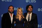 Johnny Galecki - Melissa Rauch - Kanul Nayyar - Big Bang Theory at the CBS Upfront on May 15, 2013 at Lincoln Center, New York City, New York. (Photo by Sue Coflin/Max Photos)