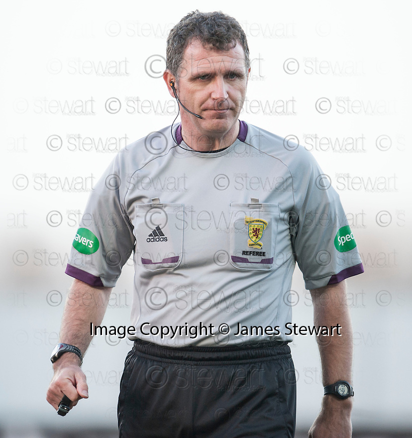 Referee John McKendrick.