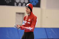 SPEEDSKATING: SALT LAKE CITY: 06-12-2017, Utah Olympic Oval, ISU World Cup, training, 3000m, Viktor Hald Thorup (DEN), photo Martin de Jong