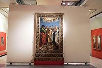 """L'""""Estasi di Santa Cecilia"""", di Raffaello, nella Pinacoteca Nazionale di Bologna<br /> """"Estasi di Santa Cecilia"""" by Raffaello in Bologna's National Pinacoteca.<br /> UPDATE IMAGES PRESS/Riccardo De Luca"""