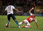 Santa Fe venció como local 2-0 Cerro Porteño. Partido de ida octavos de final de la Copa Sudamericana.