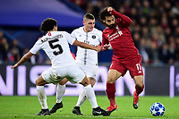 Mohamed Salah (Liverpool) vs MARQUINHOS (PSG) <br /> Parigi 28-11-2018 <br /> Paris Saint Germain - Liverpool Champions League 2018/2019<br /> Foto JB Autissier / Panoramic / Insidefoto <br /> ITALY ONLY