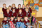 BIG: Big smiles by the junior infants of as they attended their first day at school,Front l-r: Nathan O'Shea,Luke Bonlon,Muris Harty and Zoe Collins. Centre l-r: Kaleigh Lawlor,Katelyn Leen,Eve Hussey and Sarah Cantillon. Back l-r: Ronan Casey,Emmeth ........ ...... ..DANCING: Denise McEvoy Tralee who danced the night away at her 30th Birthday Party in the KOR GAA & Hurling Club, Strand Road, Tralee(Denise is seated centre). .... ..   Copyright Kerry's Eye 2008