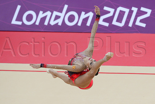 10.08.2012. London, England. Evgeniya Kanaeva RUS   Rythmic Gymnastcis 2012 London Olympic Games.
