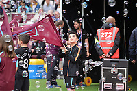 Players arrive during West Ham United vs Everton, Premier League Football at The London Stadium on 13th May 2018