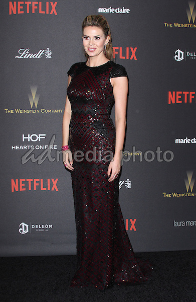 10 January 2016 - Los Angeles, California - Carly Steel. 2016 Weinstein Company & Netflix Golden Gloves After Party held at the Beverly Hilton Hotel. Photo Credit: AdMedia