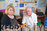 Margaret O'Shea and Noel O'Neill of the Kerry Network of People with Disabilities.