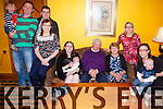 +++Reproduction Free+++<br /> Celebrating his 70th birthday was Simon Keane from Knocknagosel, pictured here last Saturday night with family and friends in The Devon Inn, Templeglantine, also pictured l-r: Tony and Anthony Kennelly, Gareth Carey, Esther Keane, Rena Keane, Alex Carey, Simon and Eileen Keane with Breda, Dolores and Ryan Keane.