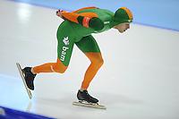 SCHAATSEN: HEERENVEEN: IJsstadion Thialf, 09-11-2012, KPN NK afstanden, Seizoen 2012-2013, 5000m Heren, Arjan Stroetinga, ©foto Martin de Jong