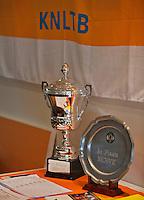 Hilversum, The Netherlands, 05.03.2014. NOVK ,National Indoor Veterans Championships of 2014,trophys<br /> Photo:Tennisimages/Henk Koster