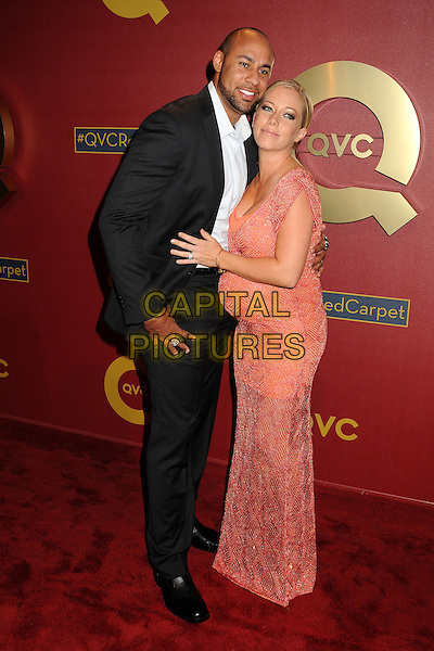 28 February 2014 - Los Angeles, California - Hank Baskett, Kendra Wilkinson-Baskett. QVC Presents Red Carpet Style held at the Four Seasons Hotel. <br /> CAP/ADM/BP<br /> &copy;Byron Purvis/AdMedia/Capital Pictures