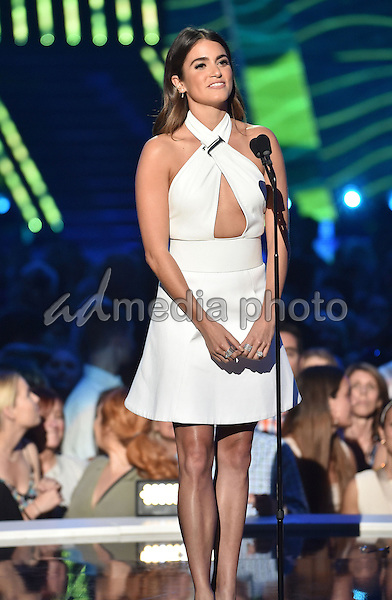 10 June 2015 - Nashville, Tennessee - Nikki Reed. 2015 CMT Music Awards held at Bridgestone Arena. Photo Credit: Laura Farr/AdMedia