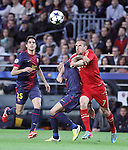 01.05.2013 Barcelona, Spain. UEFA Champions League Semi-Final 2nd leg. Picture show Frank Ribery in action during game between FC Barcelona Against Bayern Munchen at Camp Nou