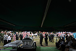 August 26, 2007. Kinston, NC.. A funeral for  Spc. Steven R. Jewell was held at the Pine Lawn Memorial Park in Kinston, NC. Spc. Jewell was killed in a helicopter crash near the Iraqi city of Fallujah on August 14, 2007.. The honor guard folds the flag from the coffin of Spc. Jewell to be given to Lisa, his wife.