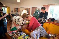 Christmas with M&D, Johnny, Lucas, Felix and Annuska in San Jose, 2013.