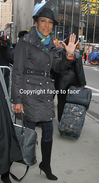 Robin Roberts at Good Morning America in New York City. February 20, 2013...Credit: MediaPunch/face to face..- Germany, Austria, Switzerland, Eastern Europe, Australia, UK, USA, Taiwan, Singapore, China, Malaysia and Thailand rights only -