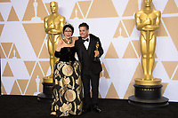 Rita Moreno and Sebasti&aacute;n Lelio, winner of the Oscar&reg; for Best foreign language film of the year backstage during the live ABC Telecast of The 90th Oscars&reg; at the Dolby&reg; Theatre in Hollywood, CA on Sunday, March 4, 2018.<br /> *Editorial Use Only*<br /> CAP/PLF/AMPAS<br /> Supplied by Capital Pictures