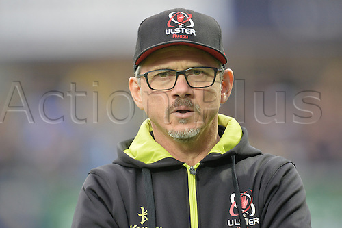 18.12.2016. Stade Marcel Michelin, Clermont-Ferrand, France. European Champions Cup Rugby. Clermont Auvergne versus Ulster.  Les Kiss (trainer ulster)