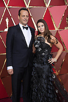 www.acepixs.com<br /> <br /> February 26 2017, Hollywood CA<br /> <br /> Actor Vince Vaughn (L) and Kyla Weber arriving at the 89th Annual Academy Awards at Hollywood &amp; Highland Center on February 26, 2017 in Hollywood, California.<br /> <br /> By Line: Z17/ACE Pictures<br /> <br /> <br /> ACE Pictures Inc<br /> Tel: 6467670430<br /> Email: info@acepixs.com<br /> www.acepixs.com