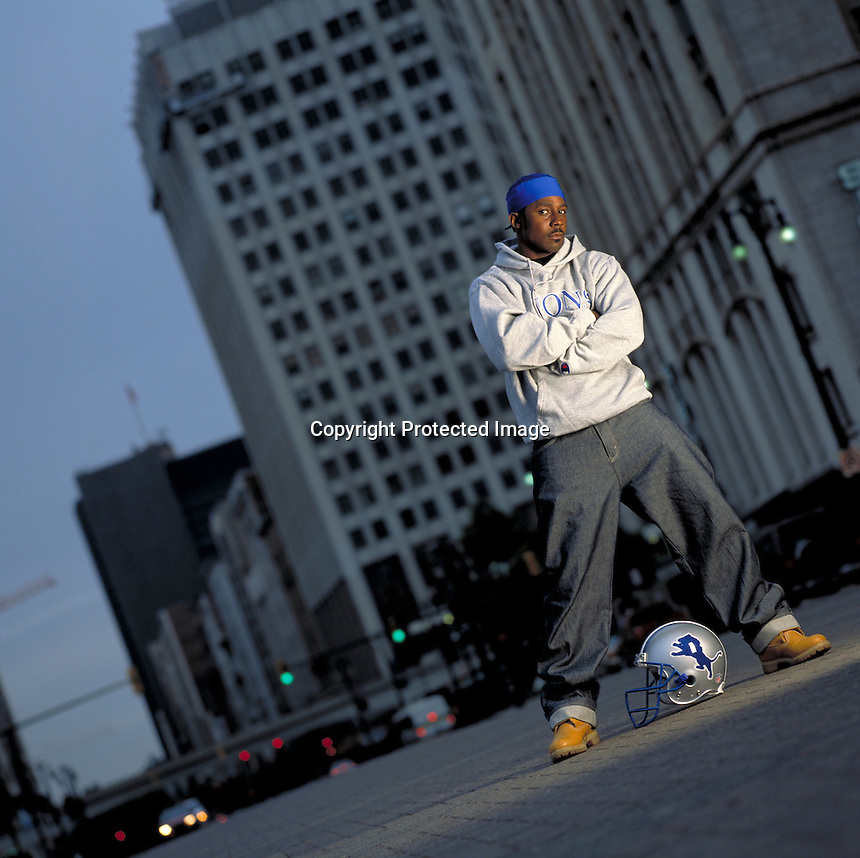 Desmond Howard, Detroit Lions.Photo by Chris Covatta