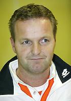 8-2-06, Netherlands, tennis, Amsterdam, Daviscup.Netherlands Russia, pressconference, Captain Tjerk Bogtstra