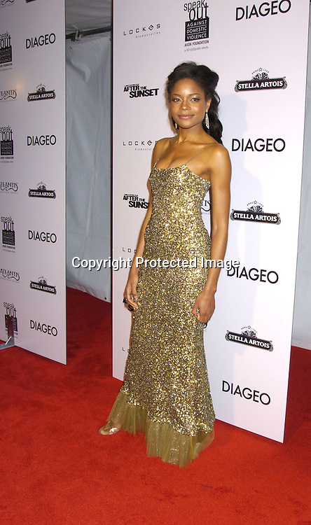 "Naomie Harris ..at The New York Premiere of ""After The Sunset"" on ..November 9, 2004 at The Ziegfeld Theatre.  The screening benefitted The New York City Office to Combat Domestic ..Violence in cooperation with the Kings County District Attorney's Office.                                                                Photo by Robin Platzer, Twin Images"