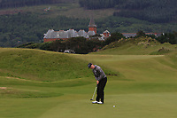 Chloe Goadby (St Regulus) on the 1st green during Round 2 of the Women's Amateur Championship at Royal County Down Golf Club in Newcastle Co. Down on Wednesday 12th June 2019.<br /> Picture:  Thos Caffrey / www.golffile.ie