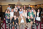 1374-1378.YOUNG AT HEART: Rory O'Shea, Annascaul (seated centre) having a great night in the Grand Hotel, Denny Street, Tralee for his 70th birthday surrounded by family and friends.