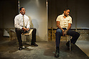 London, UK. 01.11.2012. but i cd only whisper by Kristiana Colon, opens at the Arcoala Theatre. Picture shows:  Cornell S John and Adetomiwa Edun. Photo credit: Jane Hobson.