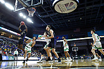 SIOUX FALLS, SD - MARCH 8: Deonte Billups #15 of the PFW Mastodons shoots past the defense of North Dakota Fighting Hawks at the 2020 Summit League Basketball Championship in Sioux Falls, SD. (Photo by Richard Carlson/Inertia)