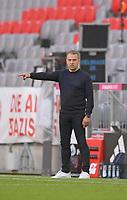 13th June 2020, Allianz Erena, Munich, Germany; Bundesliga football, Bayern Munich versus Borussia Moenchengladbach;  Trainer Hans-Dieter Flick (Bayern)