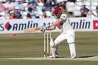 James Hildreth hits 4 runs for Somerset during Essex CCC vs Somerset CCC, Specsavers County Championship Division 1 Cricket at The Cloudfm County Ground on 27th June 2018