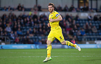 Johnny Mullins of Oxford United during the Sky Bet League 2 match between Wycombe Wanderers and Oxford United at Adams Park, High Wycombe, England on 19 December 2015. Photo by Andy Rowland.