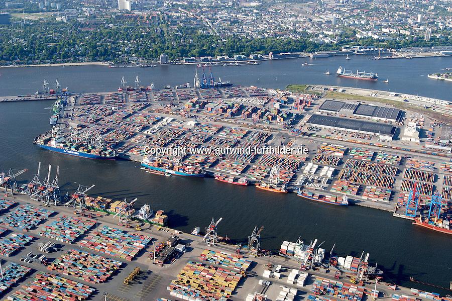 Deutschland, Hamburg, Hafen, Containerhafen Hamburg, Container, Schiffahrt, Burchardkai, Athabastakai, Waltershof, Container Terminal Waltershof, Eurokai, Predoehlkai, Waltershofer Hafen, Elbe
