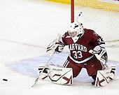 Lauren Joarnt (Harvard - 33) - The Boston College Eagles defeated the visiting Harvard University Crimson 6-2 on Sunday, December 5, 2010, at Conte Forum in Chestnut Hill, Massachusetts.